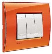 BT LL Оранжевый Рамка прямоугольная