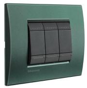 BT LL Зеленый шелк Рамка прямоугольная